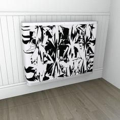 Digital monochrome fireworks for the contemporary home - love it!