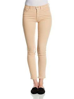 Trussardi Jeans Vaquero 105 Bull Powerstretch Dyed Fregio Strass