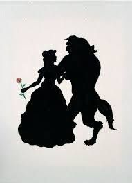 Beauty And The Beast Silhouette Holding Red Rose Canvas Print Design Pattern Kindle Paperwhite Vinyl Decal Sticker Skin by Trendy Accessories Art Disney, Disney Kunst, Disney Crafts, Disney Love, Disney Pixar, Disney Villains, Disney Characters, Beauty And The Beast Silhouette, Beauty And The Beast Party