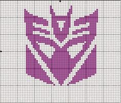 Dicepticon cross stitch