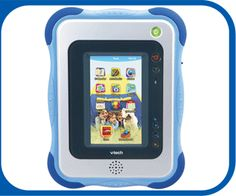 Innotab tablet.  Mama wants her iPhone back. I think this would be a better solution!