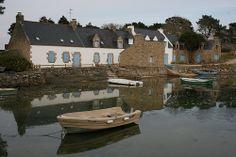 Le vieux passage à Plouhinec - ria d'Etel (Morbihan)