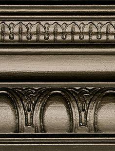Modern Masters Metallic Paint - Blackened Bronze Quart My fireplace! Metallic Painted Furniture, Chalk Paint Furniture, Metal Furniture, Bedroom Furniture, Annie Sloan, Metallic Paint Colors, Painted Kitchen Tables, Bronze, Modern Masters