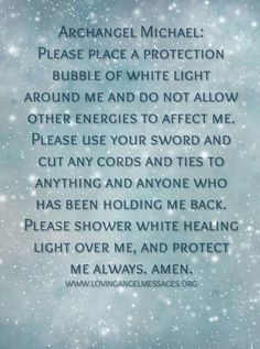 Angel prayer