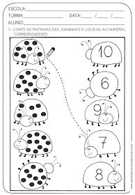 A Arte de Ensinar e Aprender: Atividade pronta - NÚMERO e NUMERAL Preschool Printables, Preschool Learning, Kindergarten Worksheets, Preschool Activities, Teaching Kids, Teaching Numbers, 1st Grade Worksheets, Kids Education, Math Lessons