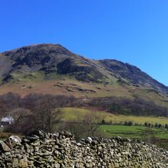Looking up towards Buttermere Moss