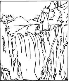 Kleurplaten Waterval.7 Beste Afbeeldingen Over Mooiste Vis Van De Zee Kleurplaten