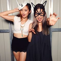 Pin for Later: Dominate Halloween in These Blogger-Approved Costumes Throw On a Mask A mask solves all of your Halloween costume struggles.