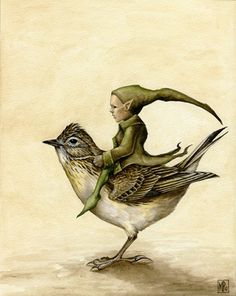 ≍ Nature's Fairy Nymphs ≍ magical elves, sprites, pixies and winged woodland faeries - Skylark & Pixie ~ Marc Potts Magical Creatures, Fantasy Creatures, Fantasy Kunst, Fantasy Art, Creative Illustration, Illustration Art, Creation Art, Flower Fairies, Fairy Art