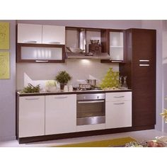 Diseños de muebles de cocinas de melamina modernos | Kitchens ...