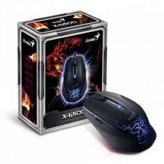 Mouse Genius gaming optic USB X-G500 Ergonomic Mouse, Computer Mouse, Gaming, Usb, Electronics, Pc Mouse, Videogames, Game, Mice