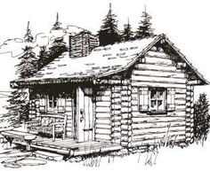cabin plans cabin plans Log House Drawings House design Seth Kinman - Wikipedia Log Cabin Pencil Drawing Pencil Drawings of Old Cars Similar Images, Stock Photos & Vectors of House Mountain Snow Landscape Hand Drawn - 562235197 Small Log Cabin Plans, Diy Log Cabin, Log Cabin Floor Plans, Log Cabin Kits, Log Home Plans, Log Cabin Homes, Barn Plans, Garage Plans, Log Cabins