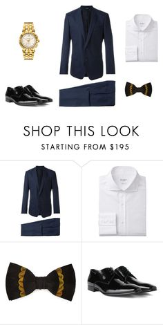 """stylist class"" by ofcoursemyhorse on Polyvore featuring Dolce&Gabbana, Brackish, Versace, men's fashion and menswear"