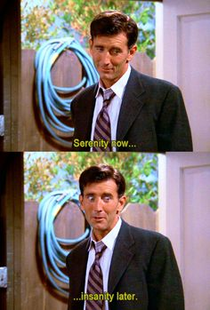 Serenity now... Insanity later #LloydBraun #Seinfeld