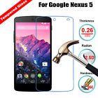 9H Real Premium Tempered Glass Screen Protector Film For LG Google Nexus 5 D820