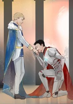 Ink & art - ishipallthings: A gorgeous Knight Tony and Prince...
