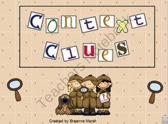 Context Clues Interactive Whiteboard Activity from Ms Third Grade on TeachersNotebook.com (21 pages) - This is a 21 page interactive whiteboard activity on context clues. It was created through Mimio and is an INK file. However, it can be used with any interactive software. The activity is very user friendly and your students will love navigating through