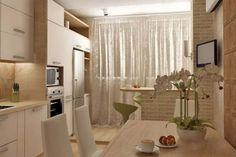 Кухня совмещенная с балконом: фото дизайн-проектов
