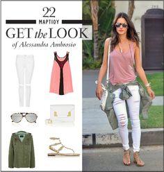 Get the look: Το νεανικό casual look της Alessandra Ambrosio - JoyTv