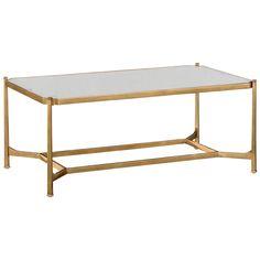Jonathan Charles Rectangular Coffee Table