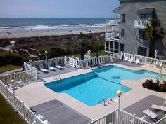 Beachfront Family Condo Monthly Rates and Winter Rates AvailableVacation Rental in Cherry Grove Beach from @HomeAway! #vacation #rental #travel #homeaway
