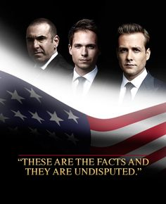 These are the facts. #suits Suits USA