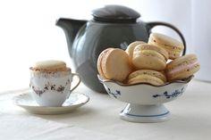 Earl Grey and Honey Rosewater Macarons