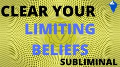CLEAR LIMITING BELIEFS SUBLIMINAL / Relax Sleep Music with Binaural Beat... Binaural Beats, Personal Identity, You Are Worthy, Solar Plexus Chakra, Achieve Success, Know Who You Are, Meditation Music, Focus On Yourself, Plexus Products