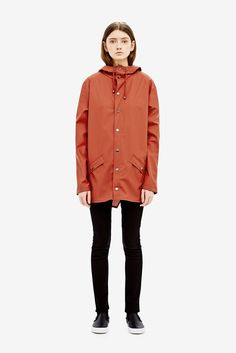 Rains parka rust | Activities and equipment | Pinterest