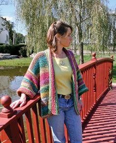 Noro yarn. Basic Garter Stitch Kimono