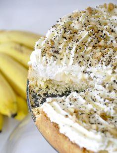 Torta cremosa de banana (Banana Cream Pie)