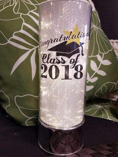 Perfect gift for graduations, weddings, anniversaries and more. I can personalize it for you! Signature Homestyles, Voss Bottle, Water Bottle, Homesense, Organization, Canning, Gifts, Weddings, Spring
