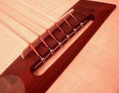 custom acoustic bridge