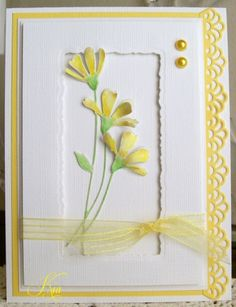 Fresh Daisies by kiagc - Cards and Paper Crafts at Splitcoaststampers