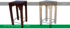 Arabesque High table