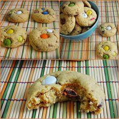 Cookies às Pintas - M&M Cookies