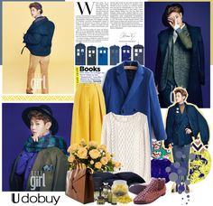 """Yoseob"" by nyamnyam ❤ liked on Polyvore"