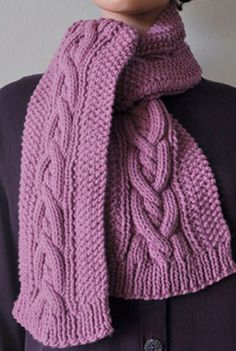 Free Crochet Pattern For Cable Scarf : 1000+ images about HATS AND SCARVES on Pinterest Cable ...