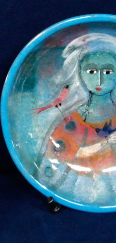 Polia Pillin, Polish-American Artist (born in 1909, POLAND).  The ceramics produced by Polia Pillin continue to gain increasing interest from Mid Century Modern art pottery collectors. In the years since Polia's death in 1992, her art pottery has appreciated significantly in value