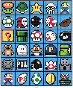 Stitch Fiddle is an online crochet, knitting and cross stitch pattern maker. Perler Beads, Perler Bead Mario, Fuse Beads, Perler Bead Templates, Pearler Bead Patterns, Perler Patterns, Tiny Cross Stitch, Cross Stitch Embroidery, Cross Stitching