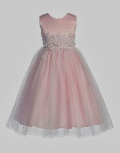Pink Flower Girl Dress - Australian Wedding Ideas