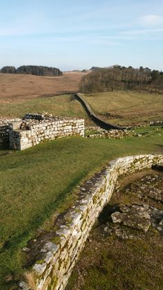 You can't beat Hadrian's Wall , especially on a crisp clear day with stunning views in all directions