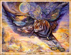 Josephine Wall Tigermoth Abraxsis