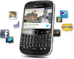 BlackBerry 9900 - My favorite phone ^^
