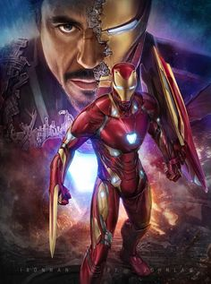 Iron Man is a fictional superhero appearing in American comic books published by Marvel Comics. Iron Man Avengers, The Avengers, Marvel Comics, Marvel Fan, Marvel Heroes, Iron Man Kunst, Iron Man Art, Iron Man Logo, Iron Man Wallpaper