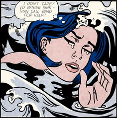 Roy Lichtenstein Pop Art, history, paintings, prints and everything else! Jasper Johns, Roy Lichtenstein Pop Art, New York Poster, Pop Art Movement, Girl Posters, Arte Popular, Popular Art, Museum Of Modern Art, Art Museum