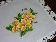 pintura hibisco - Pesquisa Google