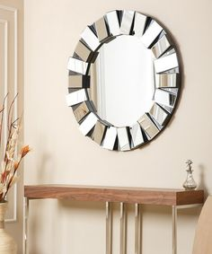 Another great find on #zulily! Pacific Round Wall Mirror #zulilyfinds