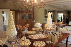 Cakes By Wade beautifully arranged sweet tables