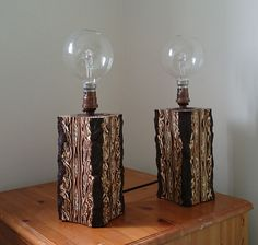 These New Zealand fernwood lamps were created by Lamps and Lights' customer, Chris Cox, we think they are Stunning!